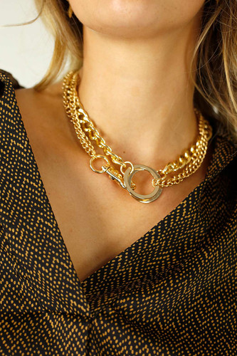 Gold Luxe Gold Necklace
