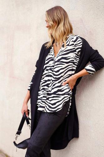Zebra Nano Sydney Blouse - SALE