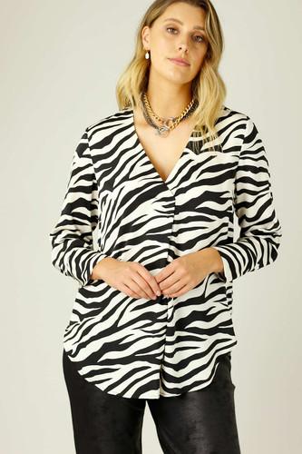 Zebra Nano Sydney Blouse
