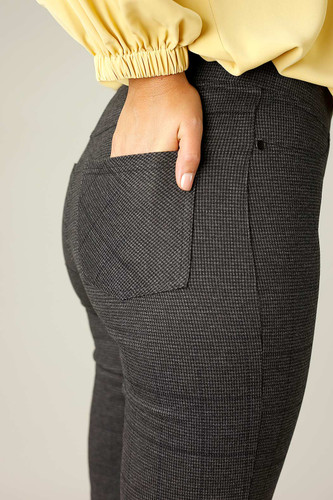 Charcoal Firm Hold Relaxed Slim Jean - SALE