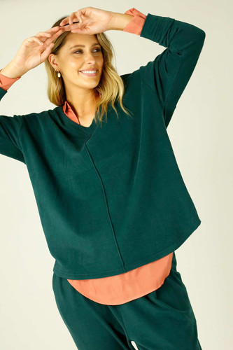 Forest Lounge Queen Jumper