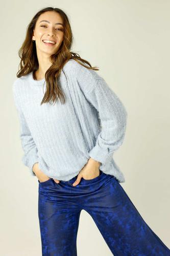 Light Blue Eyelash Knit Genie Jumper - SALE