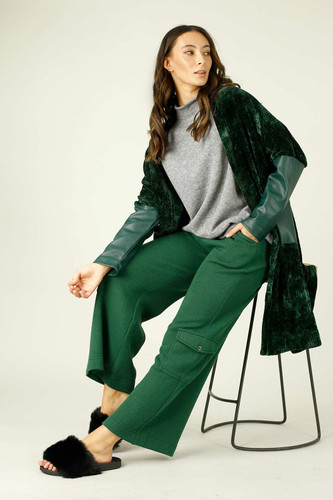 Forest Lux Cargo Culottes