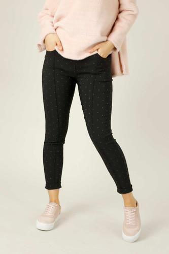 Spot Bengaline Pintuck Jean