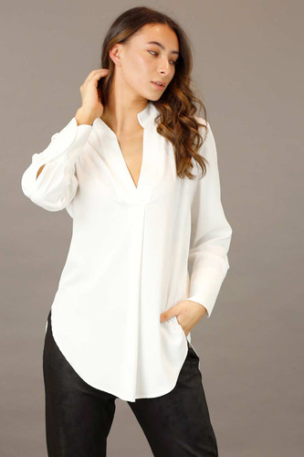 Ivory Soft Touch Blogger Shirt