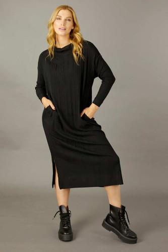Black Rib Dress - SALE
