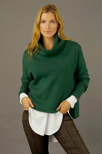 Forest Lux Turtle Jumper