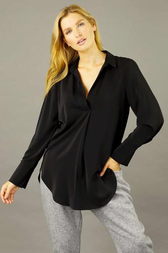 Black Soft Touch Gatsby Shirt