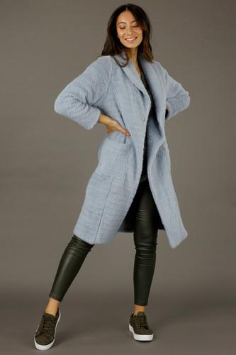 Blue Mae West Coat