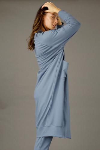 Blue Snug Raglan Cardigan - SALE