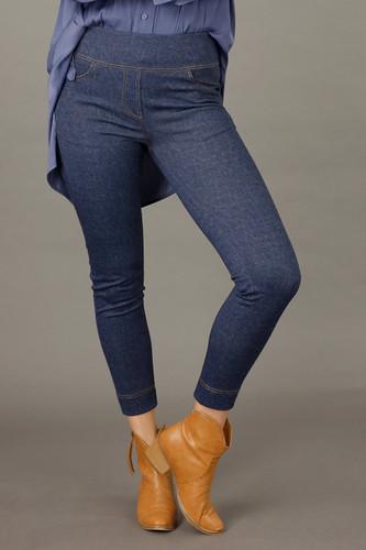Blue Denim Ponte Jeans