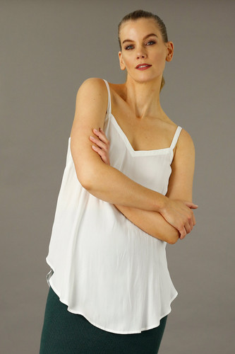 White Seta Essential Layering Cami