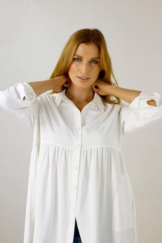 Ivory Nano Claire Shirt - FINAL SALE