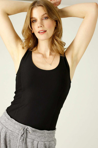 Black Miracle Ponte Camisole - FINAL SALE