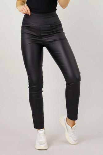 Black  Waxed Easy Fit Jean