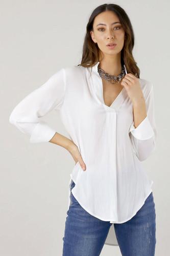 White Seta Blogger Shirt