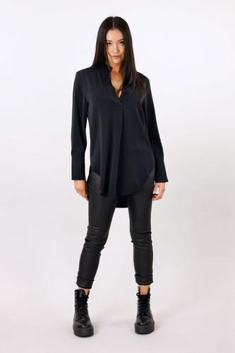 Black Soft Touch Blogger Shirt