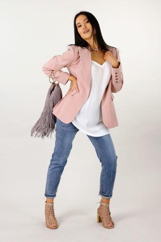 Pink Classic Mia Blazer