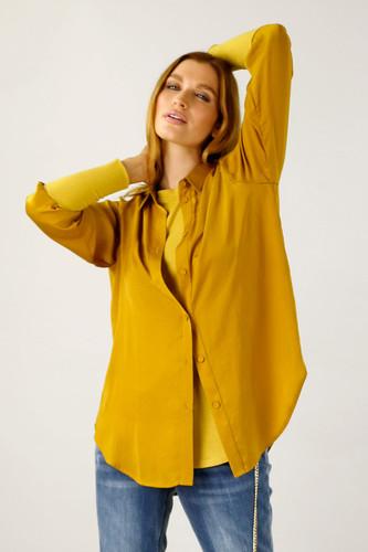 Gold Seta Andie Shirt