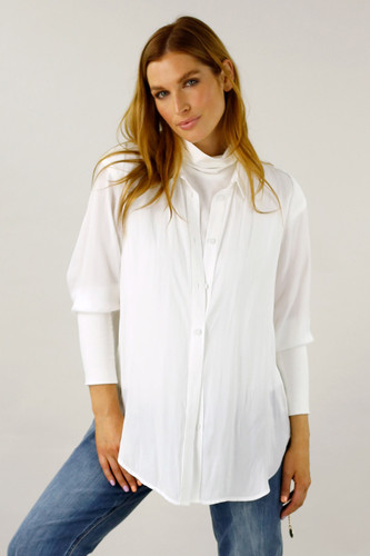 White Seta Andie Shirt