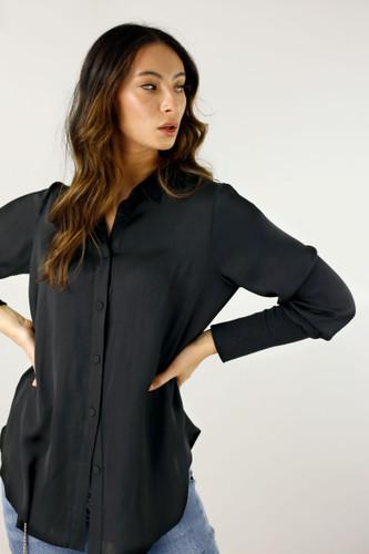 Black Seta Andie Shirt