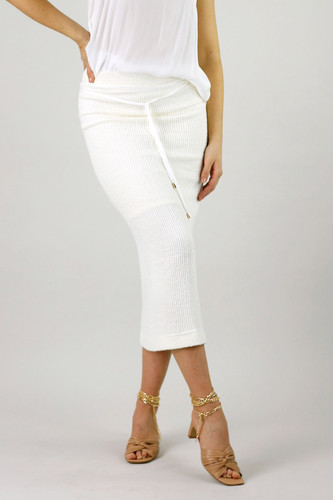 White Rib Hazel Skirt
