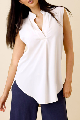 Ivory Soft Touch Blogger Cami