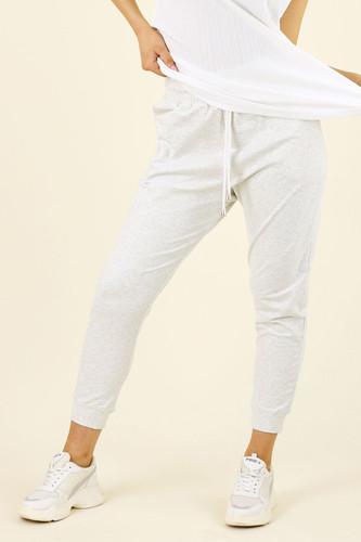 Ivory Marle Nano Cotton Lounge Pant