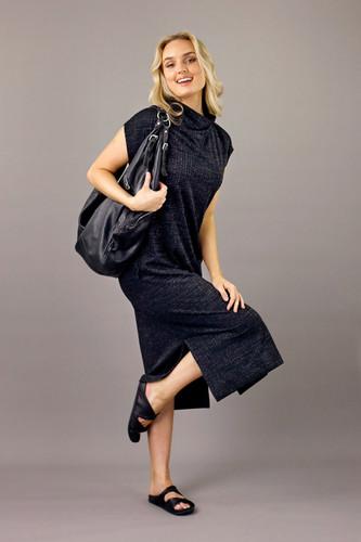 Black Twinkle Maxi Dress - FINAL SALE