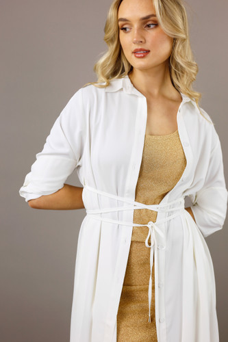 Ivory Soft Touch Empire Shirt
