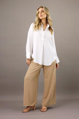 White Seta Darling Shirt
