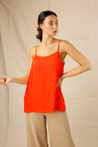 Orange Seta Lily Cami