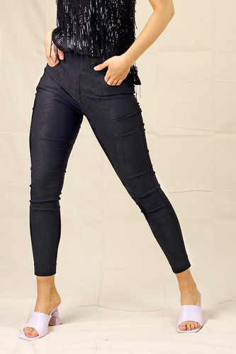 Black Line Bengaline Stitch Pant