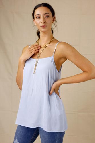 Pale Blue Seta Lily Cami