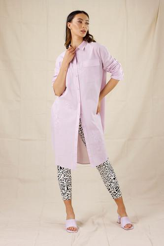 Lilac Cotton Amber Shirt