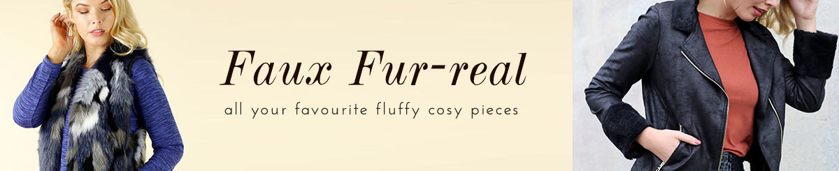 Faux Fur-real