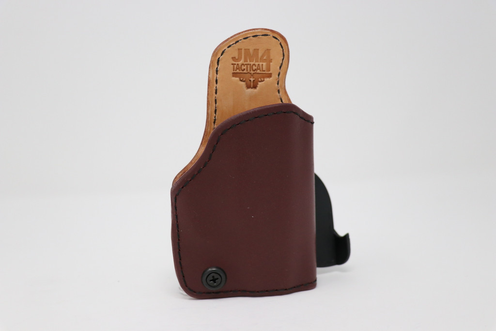Z8 - Product 97 - Right OWB Black Cherry Paddle RELIC Holster for Ruger LCP