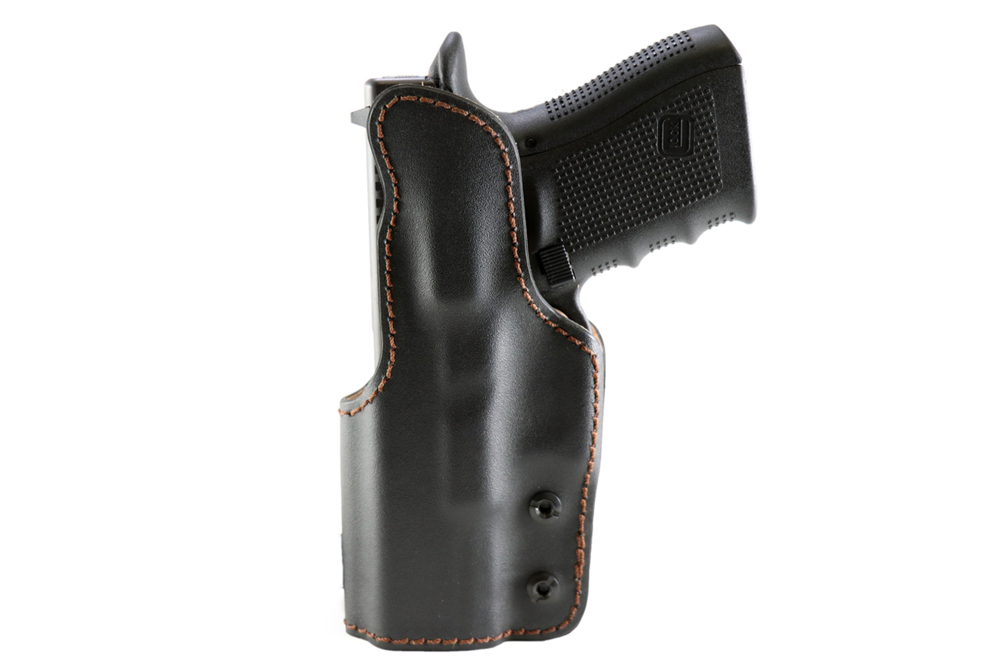 Holsters, Belts & Pouches Sporting Goods Leather Pancake Owb Holster For Walther P99 Black Made In Usa Beautiful In Colour