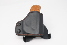 Z8 - Product 4 - Right OWB Black Paddle RELIC Holster for Ruger LC380 w/ Crimson Trace