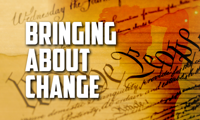 Bringing About Change