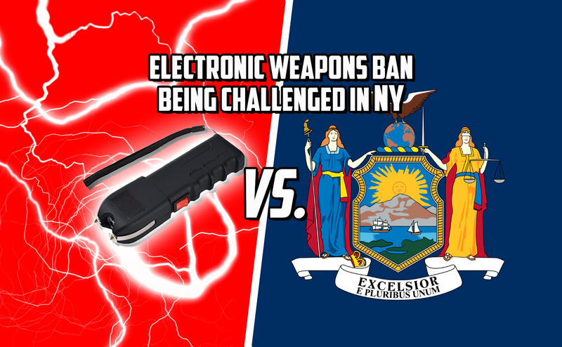 Electronic Weapons Ban Being Challenged In New York