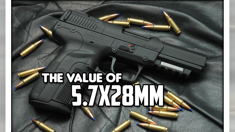 The Value of 5.7x28mm
