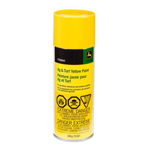 TY25641-AG/C & CE Yellow Spray Paint/12 oz.