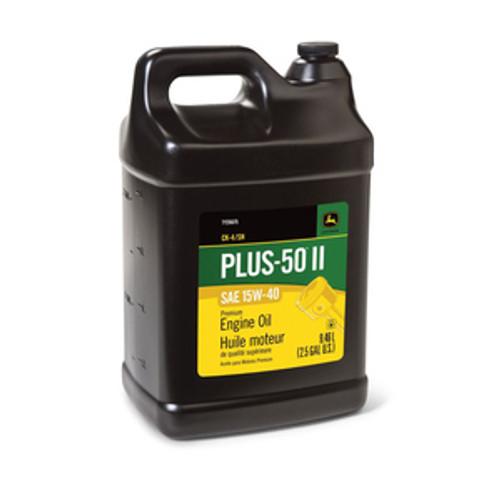 TY26675-Plus 50 II Engine Oil 15w40/2.5 Gallon