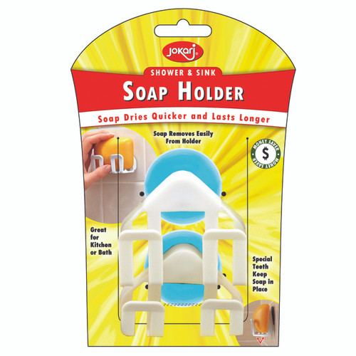 `- Soap Dries Quicker and Lasts Longer - Soap removes easily from holder - Great for the Kitchen or Bath - Special Teeth keep Soap in place