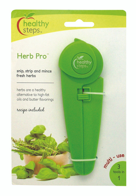 3 TOOLS IN 1! SNIP, STRIP & MINCE FRESH HERBS