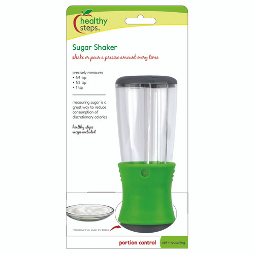 SHAKE OR POUR A PRECISE AMOUNT EVERY TIME