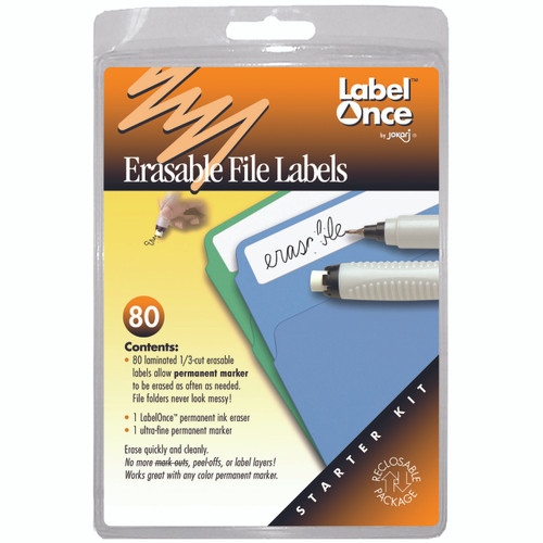 Sooner or later the information inside file folders changes and an update to the label is needed.