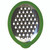 The Cheese Grater is stainless-steel medium grate.