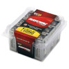 Energizer-Rayovac Battery, Type Alkaline, Voltage Rating 9V, Capacity 614 mAh, Contents 12 Per Pack EDP: 9V